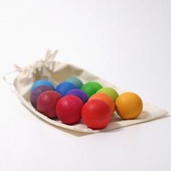 Imagen de 12 bolas rainbow