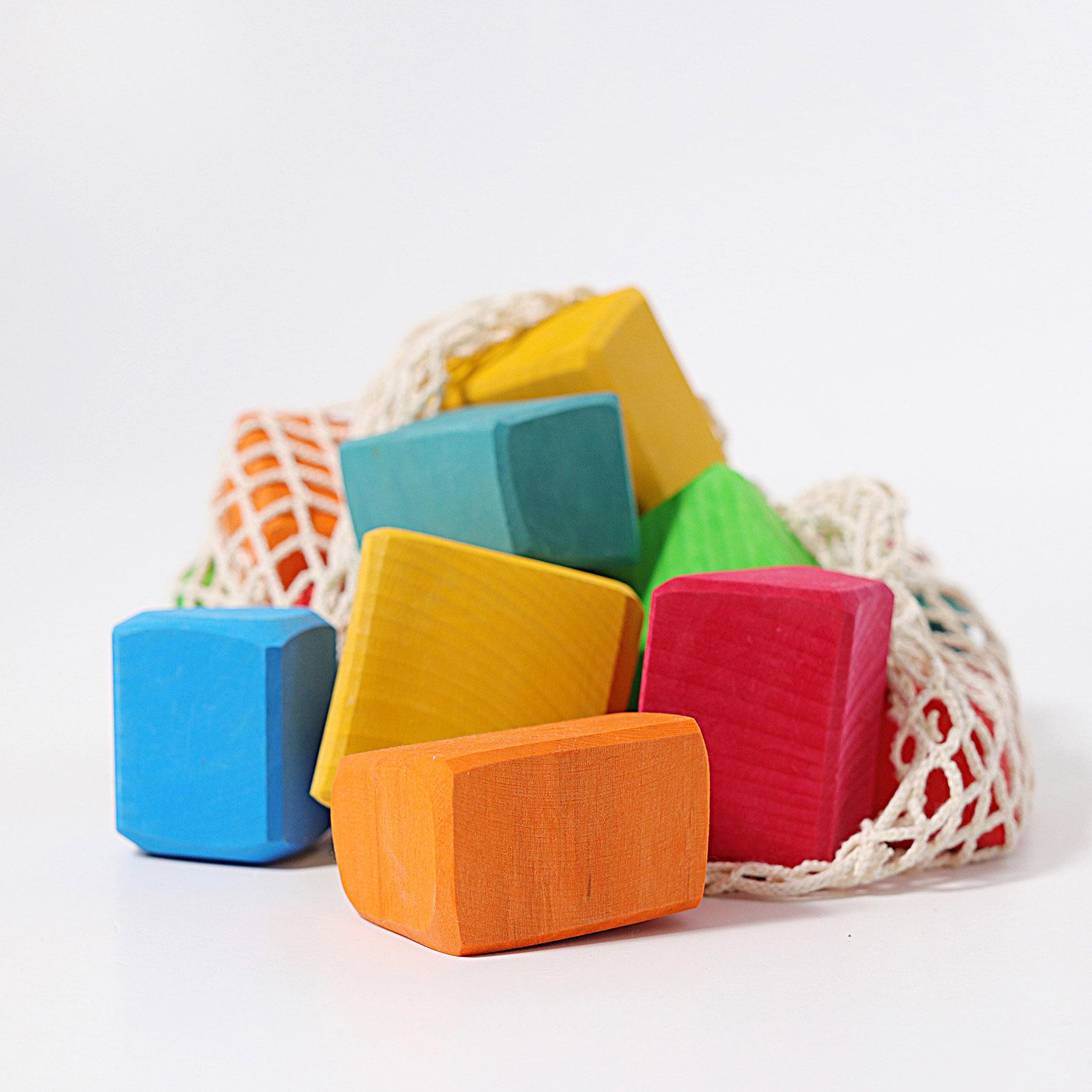 Img Galeria Saco de bloques de construcción rainbow