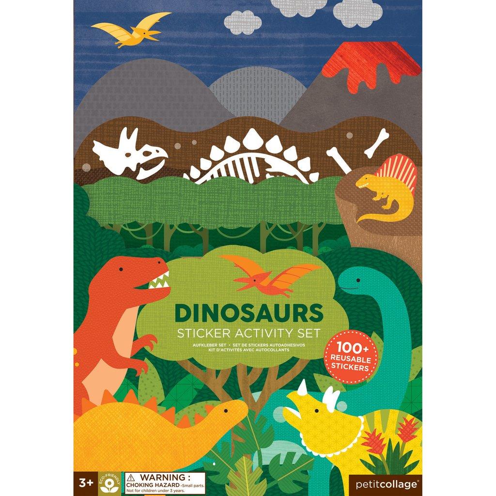 Imagen de Set de Stickers Dinosaurios Petit Collage