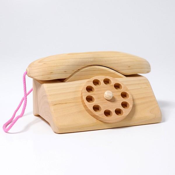 Img Galeria Teléfono de madera con campana