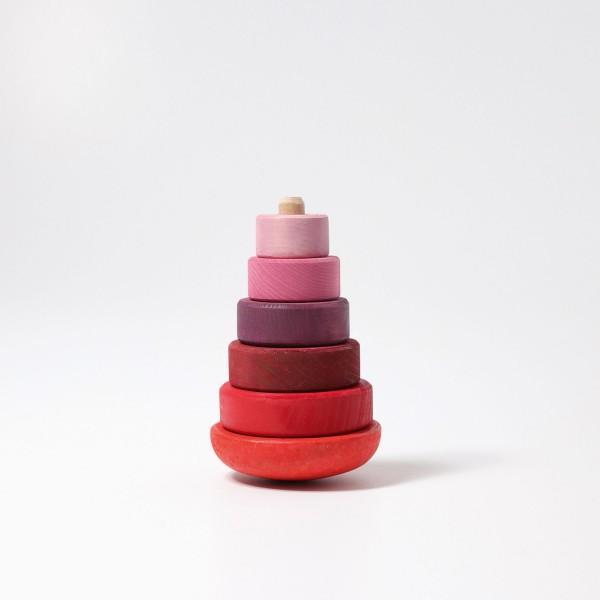 Imagen de Apilable de madera Torre Rosa Grimm´s