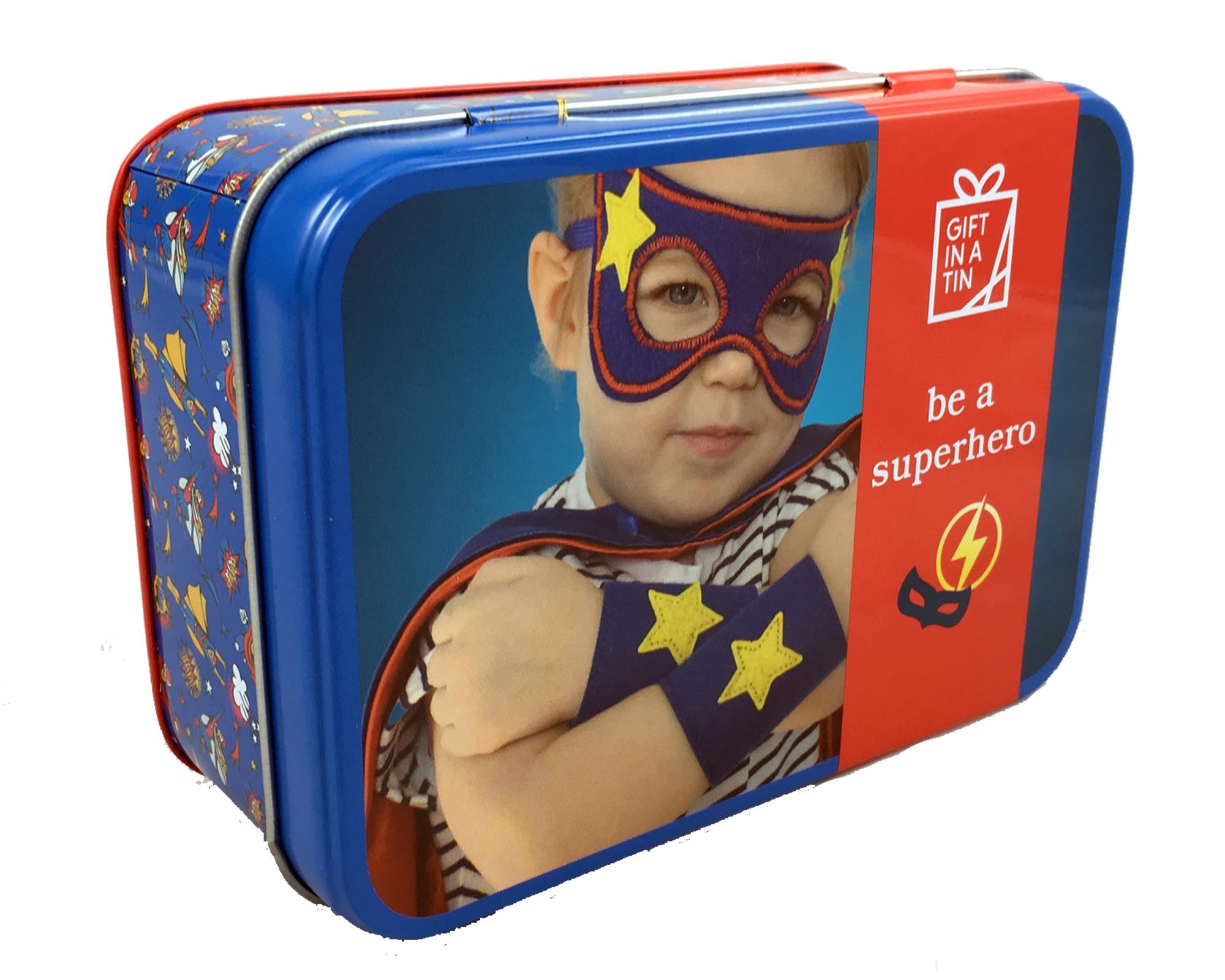 Imagen de Lata para ser un super héroe o super heroína