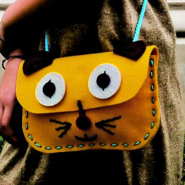 Img Galeria DIY Bolso Gato