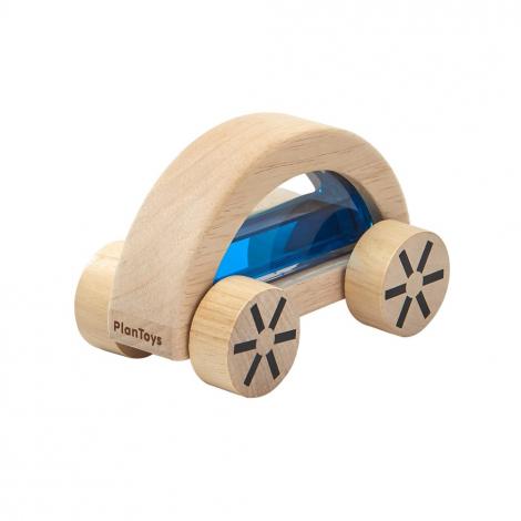 Imagen de Coche de madera con agua Azul