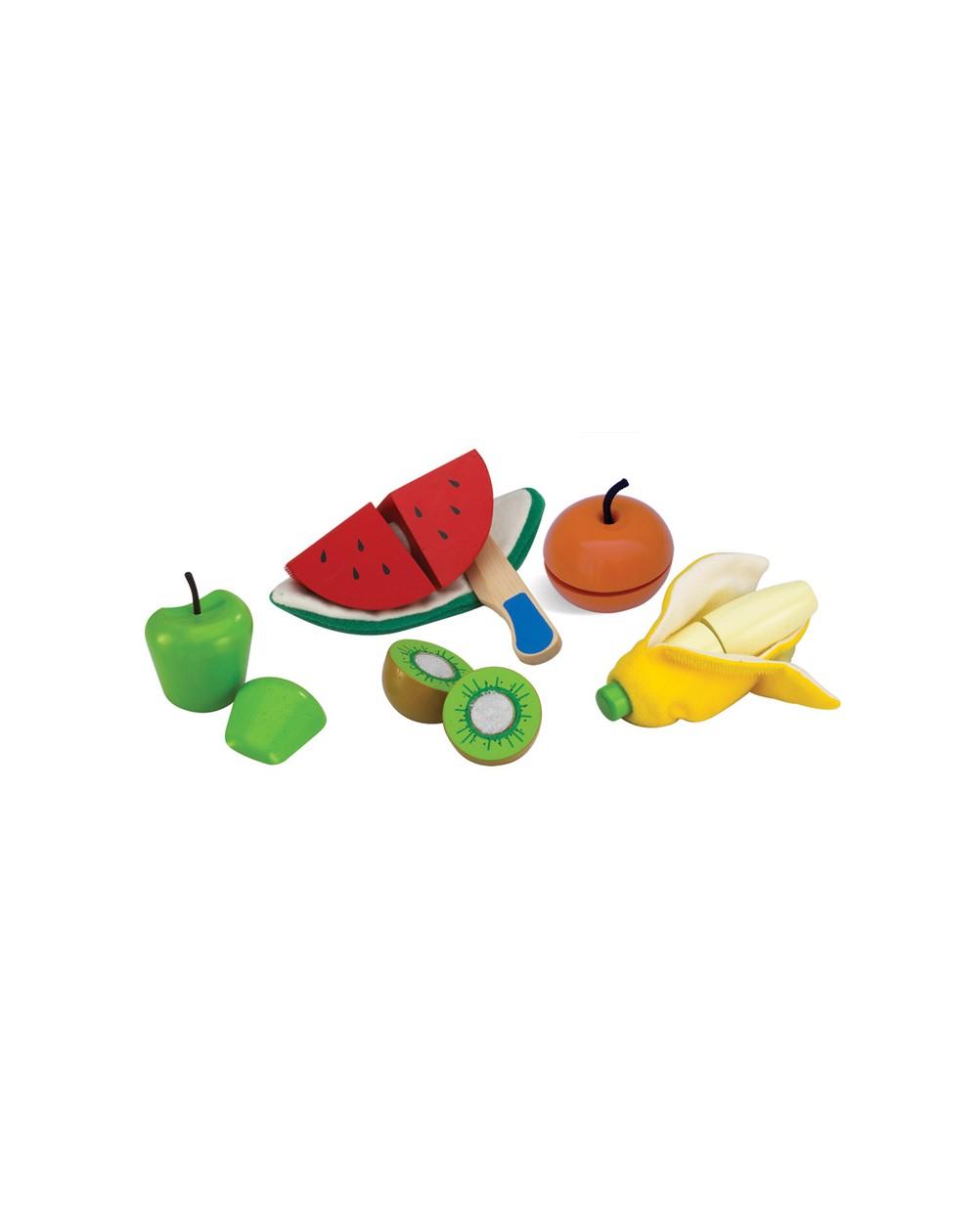 Imagen de Corta y pela las frutas