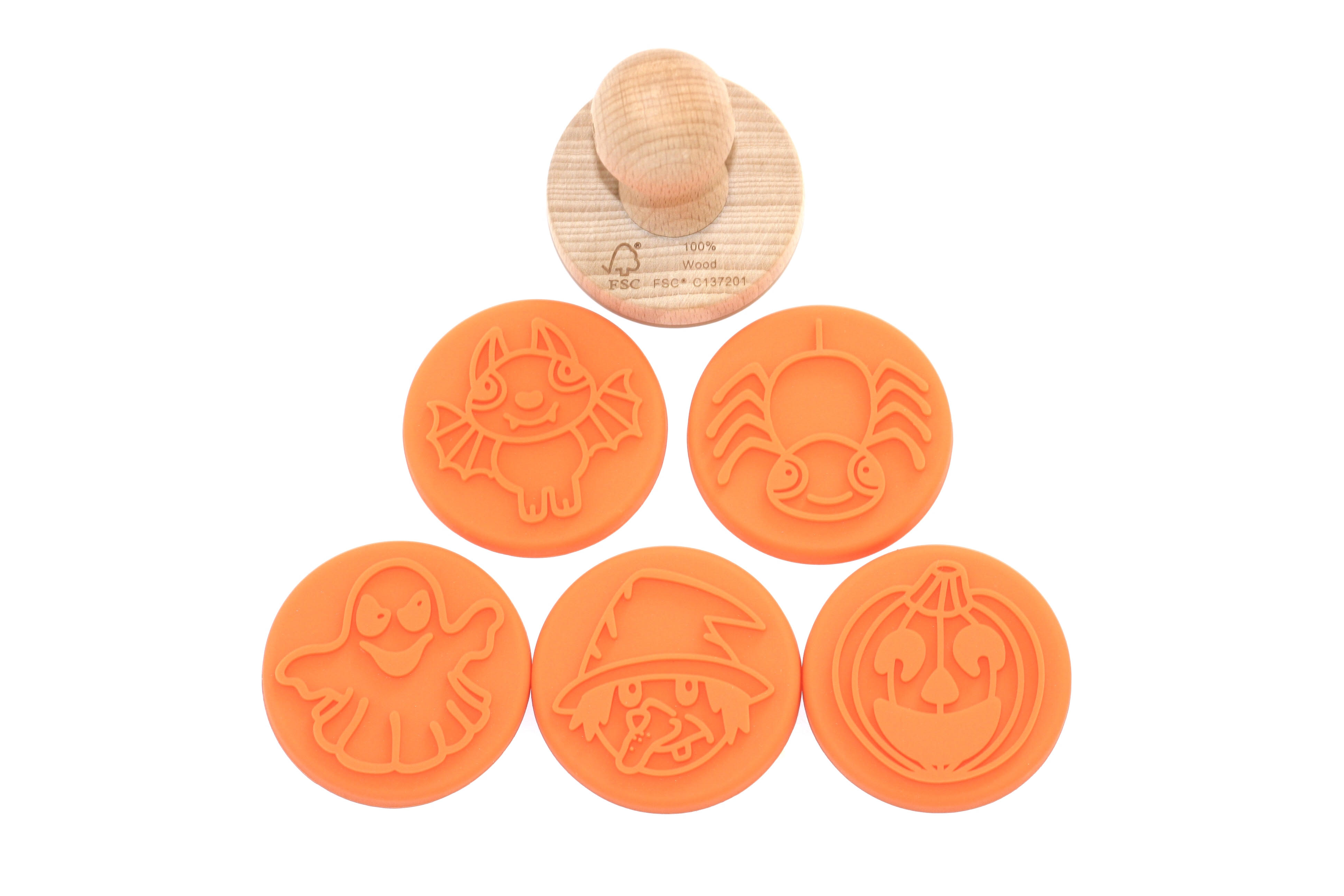 Img Galeria Set de 5 sellos Monstruos