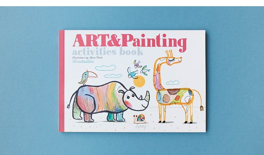 Imagen de -Art & Painting- Cuaderno de Actividades Londji