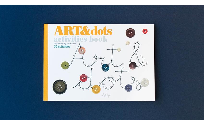 Imagen de -Art & Dots- Cuaderno de Actividades Londji