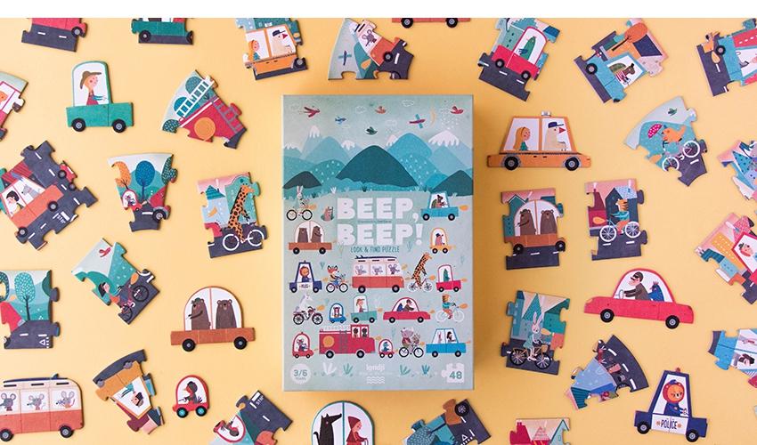 Imagen de Puzzle Beep! Beep!
