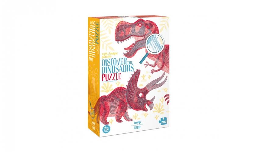 Imagen de Puzzle Discover the Dinosaurs
