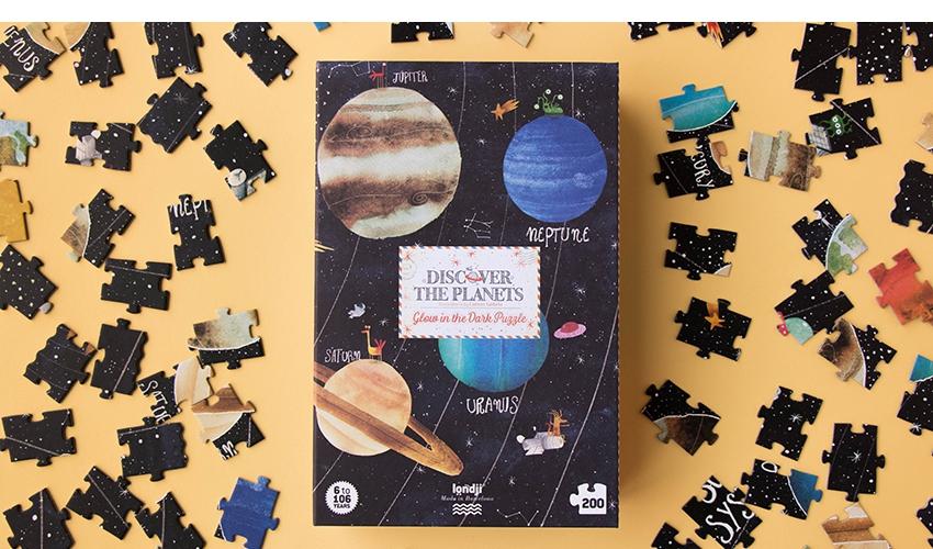 Imagen de Puzzle Discover the Planets