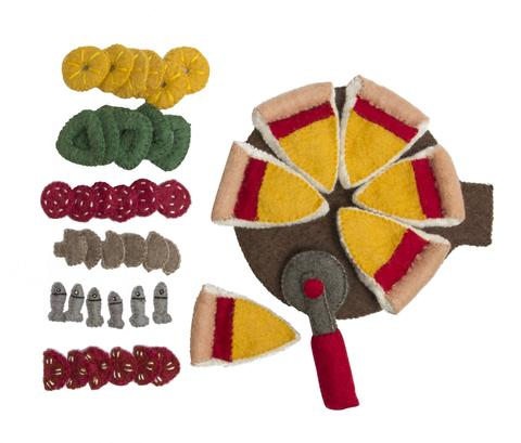 Img Galeria Set de Pizza de fieltro de lana Papoose