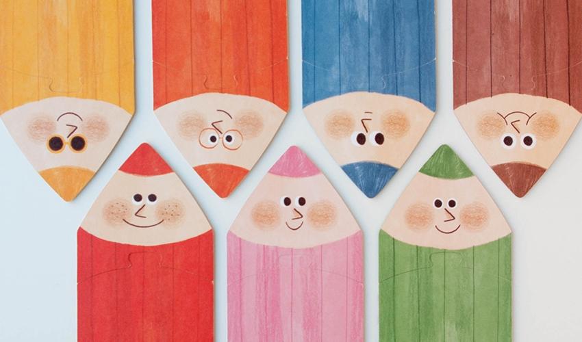 Imagen de Puzzle I Love my Colours
