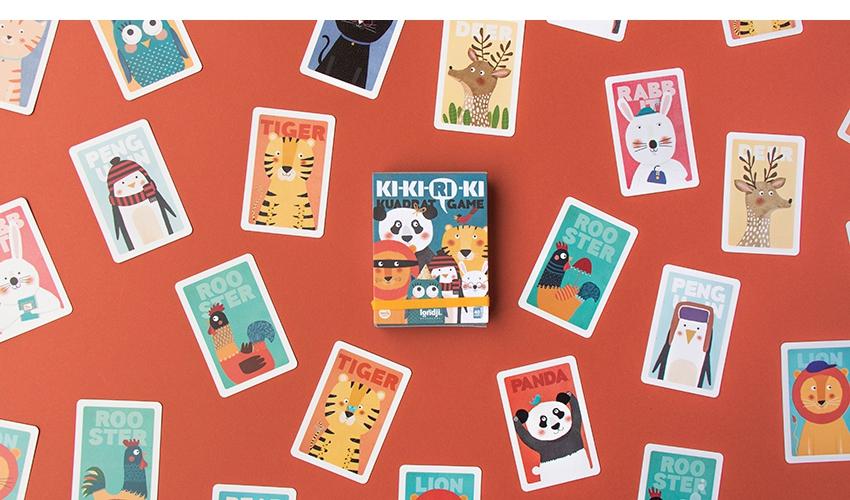 Imagen de Juego de cartas Ki-Ki-Ri-Ki