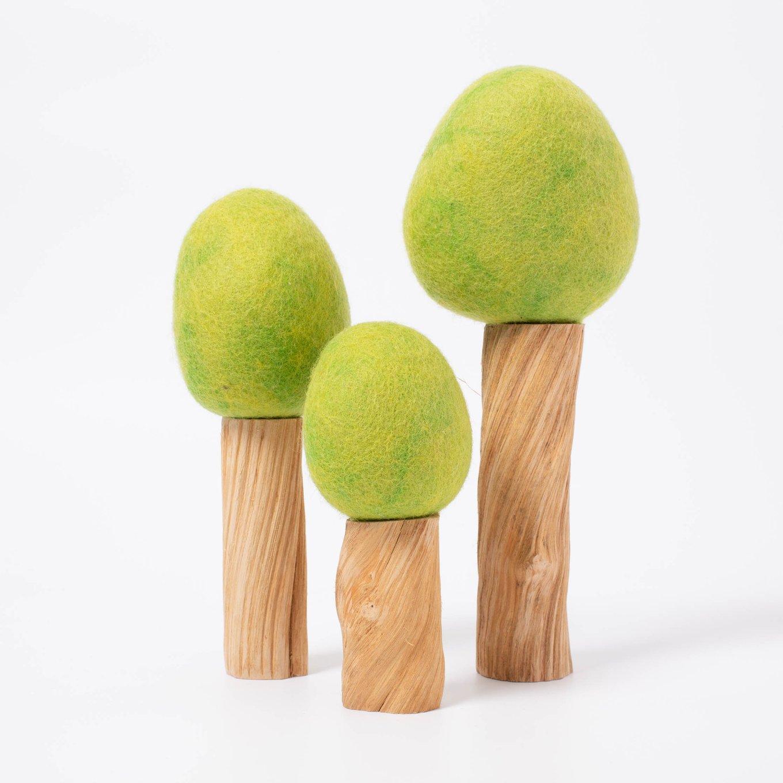 Imagen de Arboles de madera y fieltro (primavera) Papoose