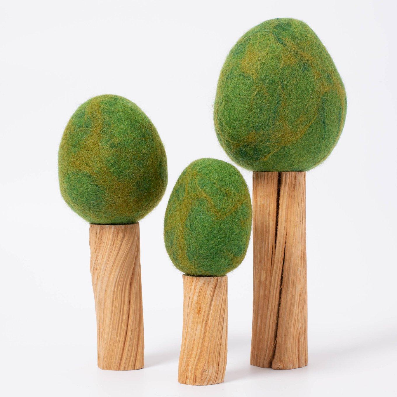 Imagen de Arboles de madera y fieltro (verano) Papoose