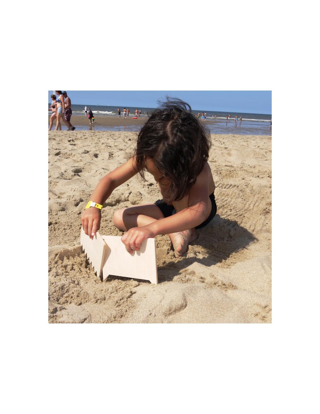 Img Galeria Peines de madera para pintar en la arena