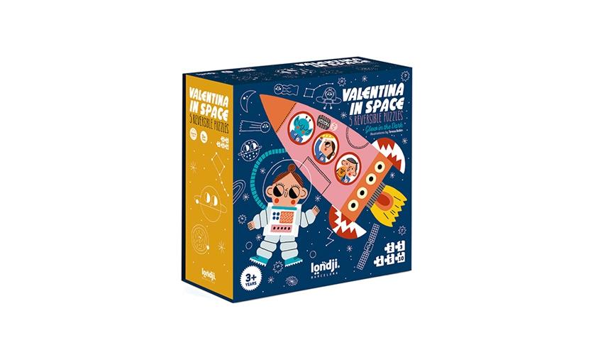 Imagen de Puzzle Valentina in Space
