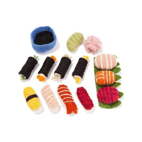 Imagen de Sushi Set de fieltro Papoose