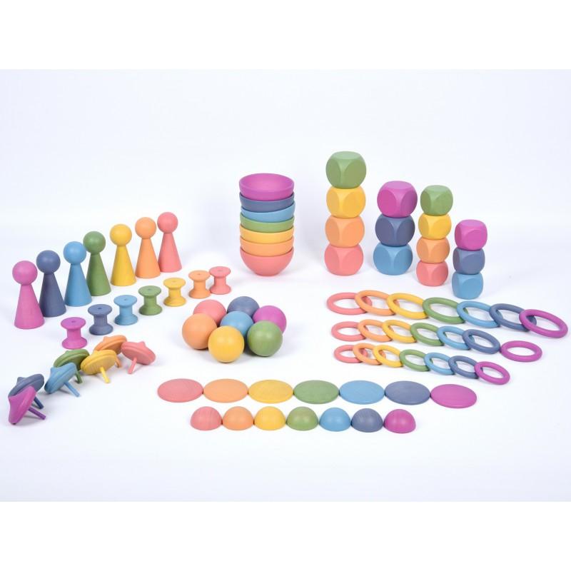 Imagen de Gran conjunto juego heurístico arco iris