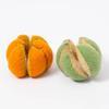 Imagen de Manzana y naranja segmentadas de fieltro Papoose