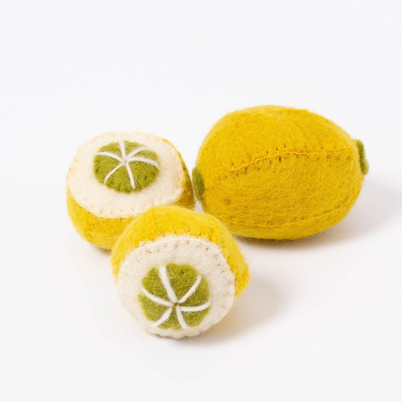 Imagen de Limones de fieltro Papoose