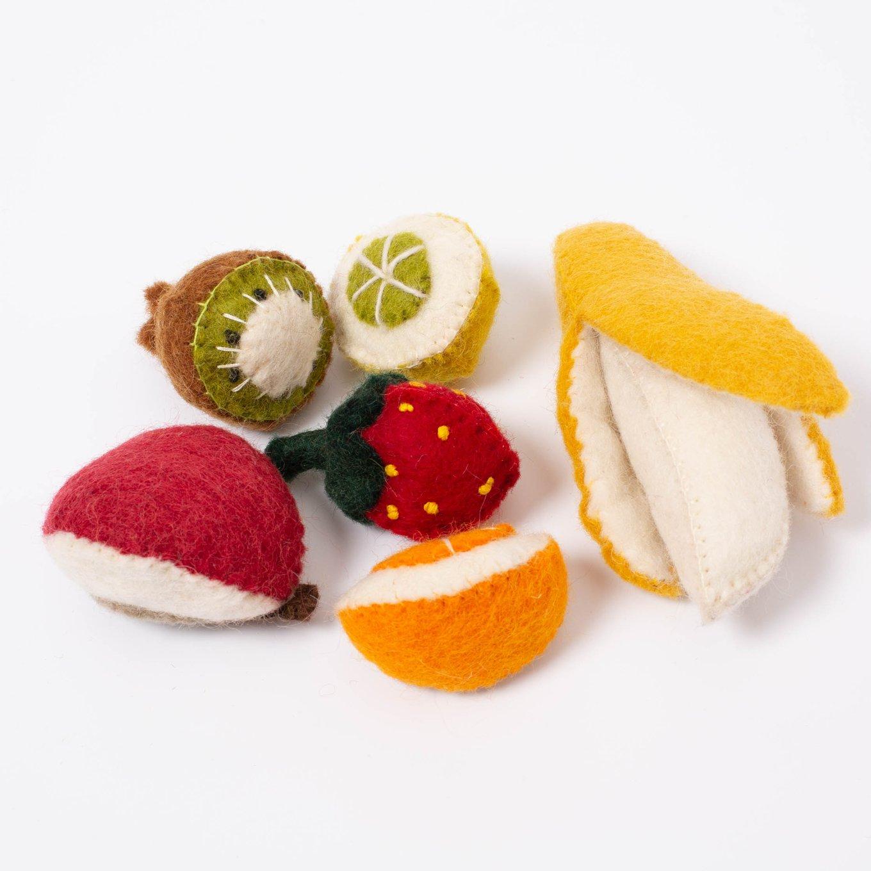 Img Galeria Set de mini frutas de fieltro Papoose