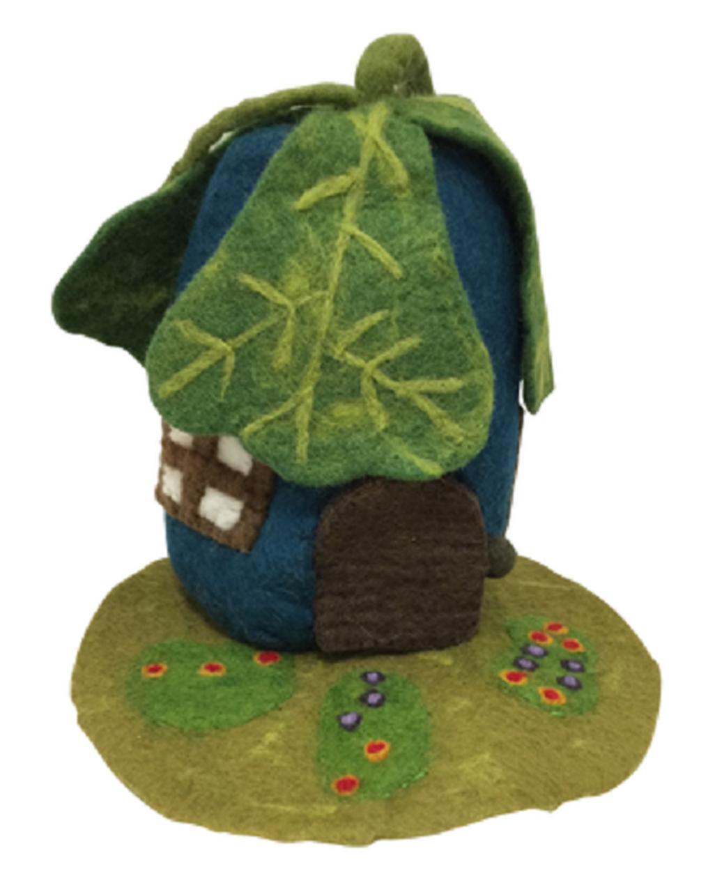 Imagen de Casa hoja de roble con tapete de fieltro Papoose